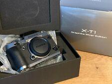 New listing Fujifilm Fuji X-T1 Graphite Silver Edition