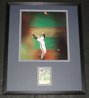 Jesse Orosco Signed Framed 16x20 Photo Display 1986 Mets World Series B
