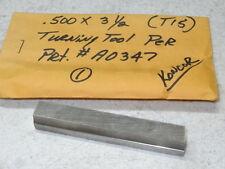 """new KONCOR 1/2"""" x 3-1/2"""" (T15) Rectangular Cut-Off Toolbit Tool Bit Turning Tool"""