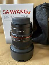 objectif samyang 14mm Canon RF