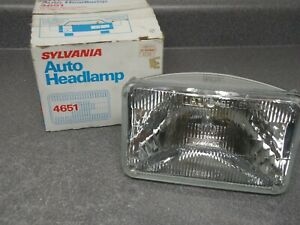 New Sylvania Hi High Beam Headlight Headlamp 4651