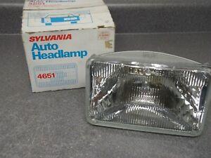 New Sylvania Hi High Beam Headlight Headlamp 4651