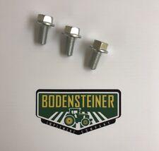 John Deere OEM Blade Bolt Kit (Set Of 3) 19M7788
