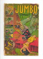 JUMBO COMICS 164 RARE LATER HORROR ISSUE SHEENA FICTION HOUSE