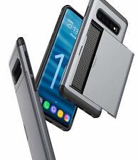 Credit Card Holder Wallet Slide Hard Phone Case Cover For Samsung S10/ S10 Plus