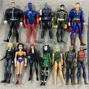 DC UNIVERSE YOUNG JUSTICE Comics Aqualad Robin Atom Aquaman Flash Action Figures