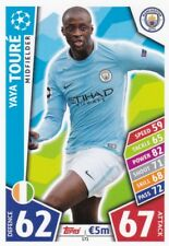 Yaya Touré 2017-18 Topps Champions League Match Attax,Sammelkarte,#171