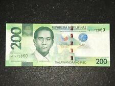 Philippines NGC 2015 200 Pesos Starnote / Replacement Banknote - Aquino/Tetangco