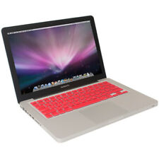 Red Silicone Keyboard Skin Cover For Macbook 13 inch Unibody, Macbook Pro, Air