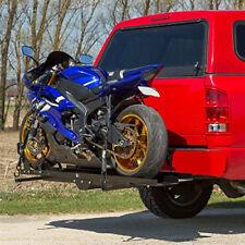 Heavy-Duty Steel Car Cargo Rear Bicycle Motorcycle Carrier Truck Hitch Mount
