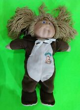 VINTAGE CABBAGE PATCH KIDS DOLL IN SLEEPER - LIGHT BROWN HAIR
