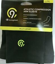 Champion Athletic Compression Arm Sleeve Adult L/XL Black