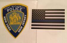 NY NJ Port Authority Police InWindshield *Authentic Decal +Blue Line Sticker *O