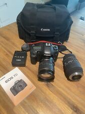 Canon Eos 7D 18.0Mp Digital Slr Camera (Kit w/ Efs 28-135mm Lens) + accessories