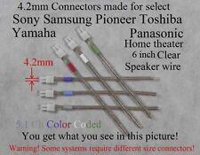 6c 4.2mm plugs made for Sony DAV-BC150/BC250/DX155/DX255/DX315/DX375/FX500 HT