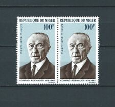 NIGER - 1967 YT 74 paire - POSTE AERIENNE - TIMBRES NEUFS** LUXE