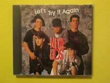 New Kids On The Block Let's Try It Again Rare 1990 Promo MINT CD
