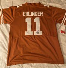 Sam Ehlinger Signed Texas Longhorns Jersey