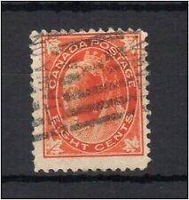 Canada 1897 Maple Leaves 8c sound used - SG148