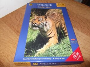 1 X AA WILDLIFE COLLECTION SUMATRAN TIGER 1000 PIECE JIGSAW BARGAIN LOW START.