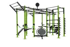 We R Sports Power Rack Commercial Crossfit Power Cage Pull Ups Chin Up Triceps 1