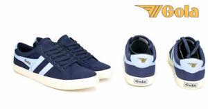 Gola Tennis Mark Cox  NAVY /POWDER BLUE   Varsity CMA331 sneakers for men