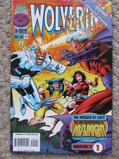 Wolverine #104 (1996) 'Onslaught' Part 1; Elektra guests - Lovely NM