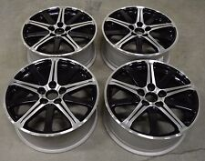 "19"" Acura TL 09 10 11 12 13 14 Factory OEM Rim Wheel 71787 Black Machined"