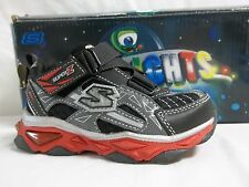 NEW Boy/'s Toddler SKECHERS TOUGH TRAX 95470 Gray//Red Athletic Sneakers Shoes