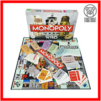Monopoly Doctor Who 50th Anniversary Edition Board Game Trading Game BBC Series