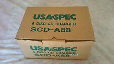 NEW USA SPEC 6 disc CD changer SCD-A88 Honda, Acura, BMW, Volvo, Dodge, Jeep