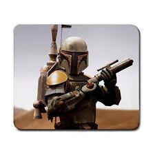 Boba Fett Star Wars Movie Gaming Gamers Laser Optical Non Slip Mouse Pad Mat