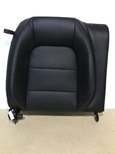 2015 15 FORD MUSTANG ECOBOOST OEM BLACK LEATHER REAR SEAT SIDE