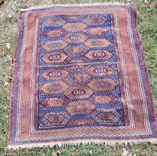 Antique Caucasian Scatter Rug, Oriental Tribal Carpet