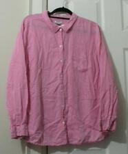 OLD NAVY POLKA DOT BUTTON-DOWN SHIRT, SIZE XXL