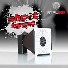 Atflbox 14X14CM Airgun BB Gun steel pellet trap Metal Shooting Target