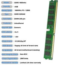 KVR16N11S8 Nuovo di Zecca KINGSTON 4 GB, PC3-12800 DDR3-1600Mhz CL11 240 PIN DIMM