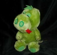 "9"" VINTAGE RUSS BERRIE DONNIE THE BABY GREEN DRAGON STUFFED ANIMAL PLUSH TOY"