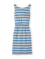 BODEN  BNIB Grace Dress - Blue Stripe - UK 12 R - 2015