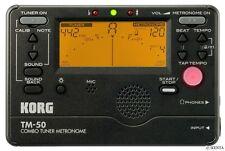 Korg TM-50 Combo Tuner Metronome Chromatic Multi-Instrument From Japan F/S