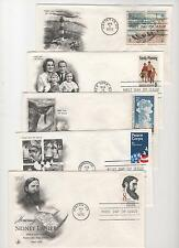 US FDC 1972 Year Set 32 First Day Covers All Artcraft Cacheted Unaddressed |