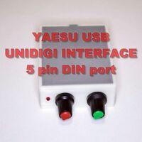 Yaesu Digi Interface with PTT - PSK,PSK31,FT8,SSTV/ FT-920,1000,2000,5000,9000