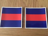 MILITARY LAND ROVER ARMY GUARDS DECAL X2