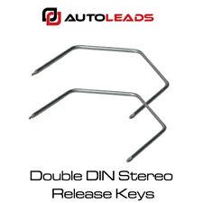 VAUXHALL Meriva, Zafira, Vivaro Double DIN Stereo Release Keys Pins Tools