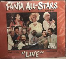 RARE cd  DVD 70s 80s Salsa Fania All Stars LIVE IN PUERTO RICO 6-11-94 Su Gente