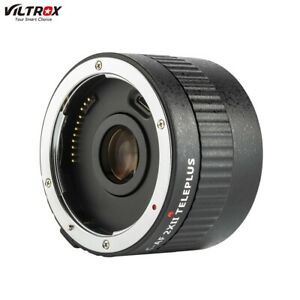 Viltrox C-AF AutoFocus Teleconverter Lens Extender Adapter For Canon EOS EF B7J6