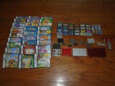 4 Nintendo Consoles -Backlit Game Boy Advance SP DS Lite DSi XL + 59 games lot