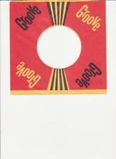Groove Records- Original 1960's 45 Record Company Sleeve