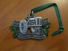 Land O'Lakes Tractor Christmas Ornament 1995