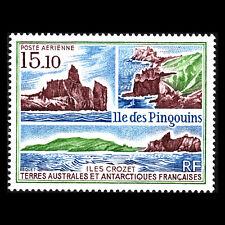 TAAF 1988 - Penguin Island Nature Landscape - Sc C101 MNH